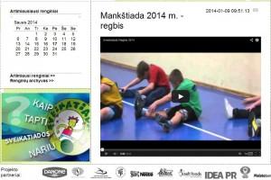 2014-01-17 Sveikatiados regbio filmukas