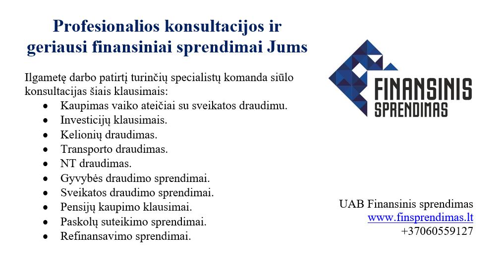 2019-02-26 Finansinis sprendimas