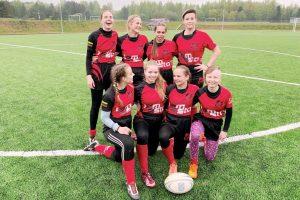 VRA merginų komanda