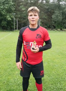 Geriausiu VRA žaidėju U15 amžiaus grupėje išrinktas Arijus Tragys