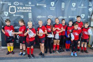 """Vilniaus """"SM Tauras-VRA"""" Jaunučių B komanda"""