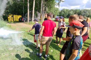 Vaikus nuo ryto aplankė Vilniaus priešgaisrinės gelbėjimo valdybos Valstybinės priešgaisrinės priežiūros skyriaus specialistai